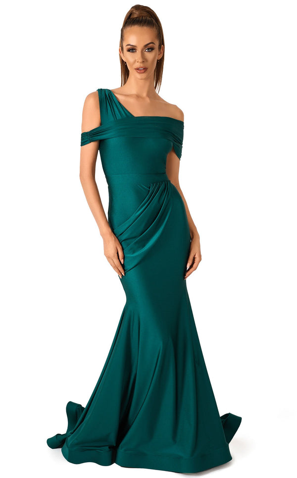 Evaje 10048 Dress Emerald