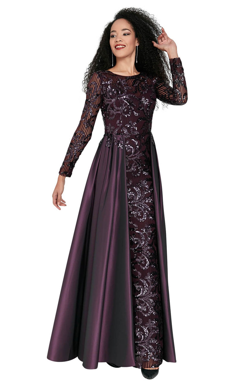 Passion Dress 10177 Dress Plum