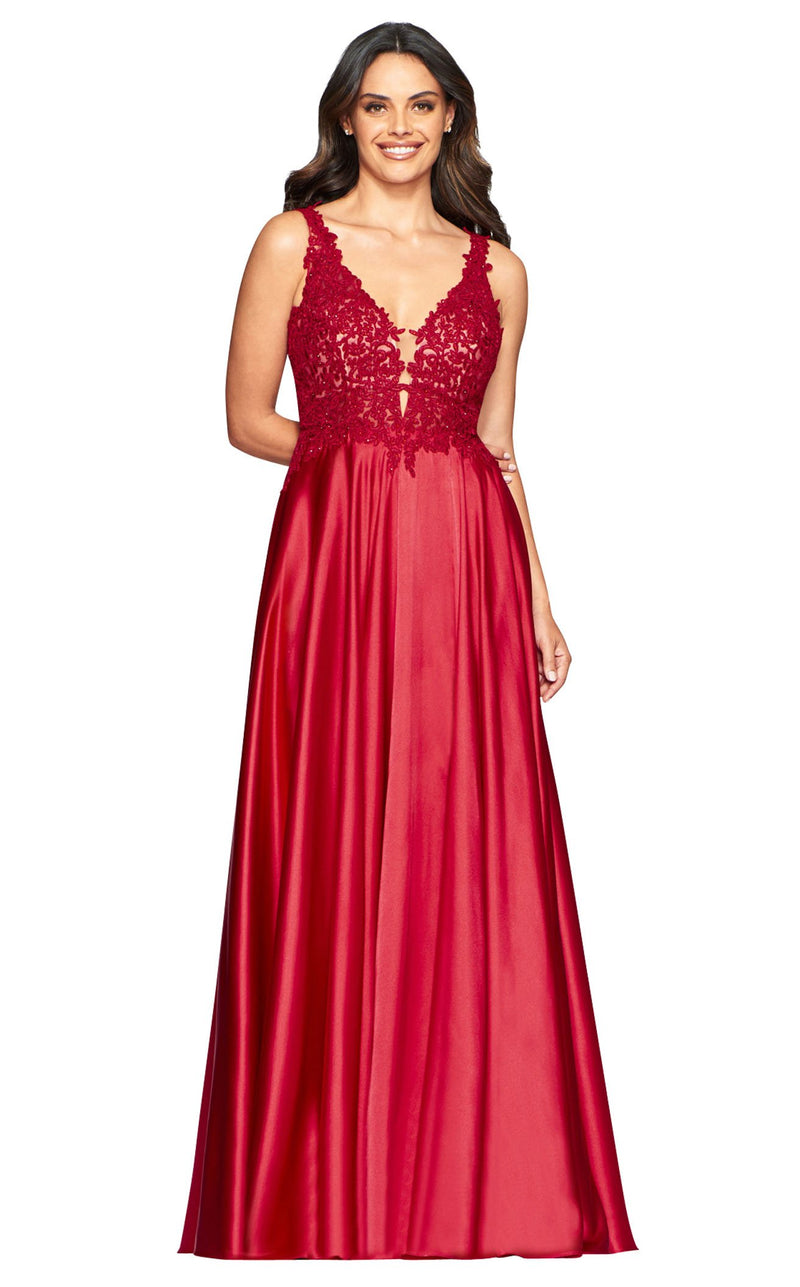 Faviana 10407 Dress Red
