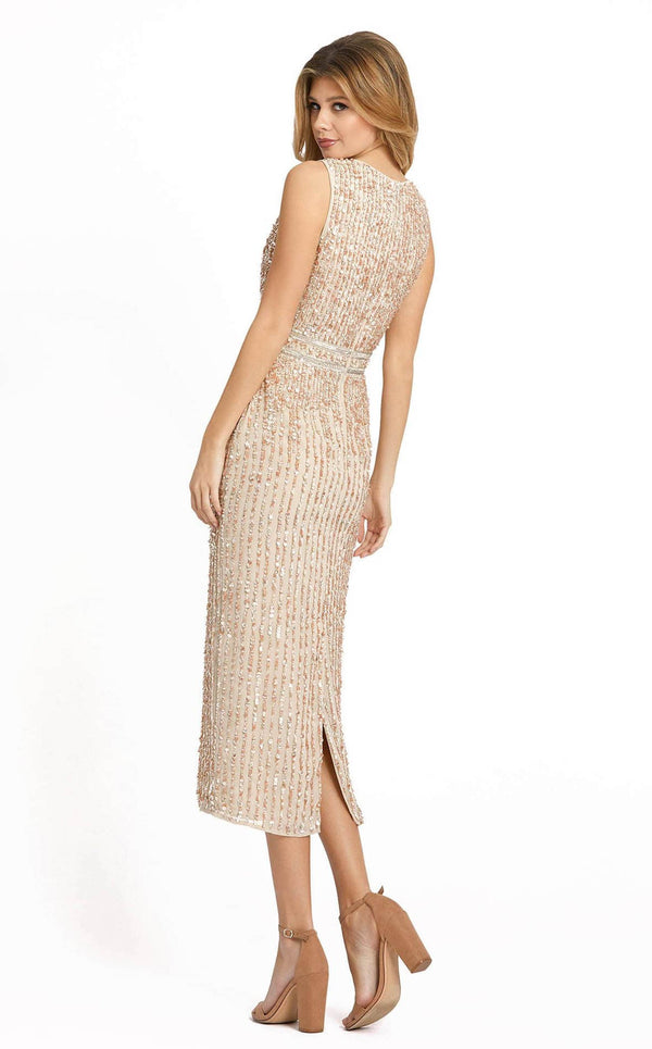 Mac Duggal 10509D Dress Nude