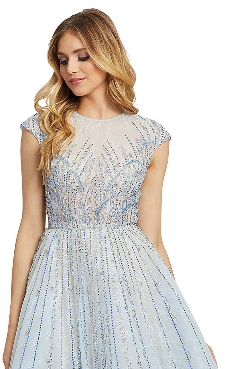 Mac Duggal 11112D Ice-Blue