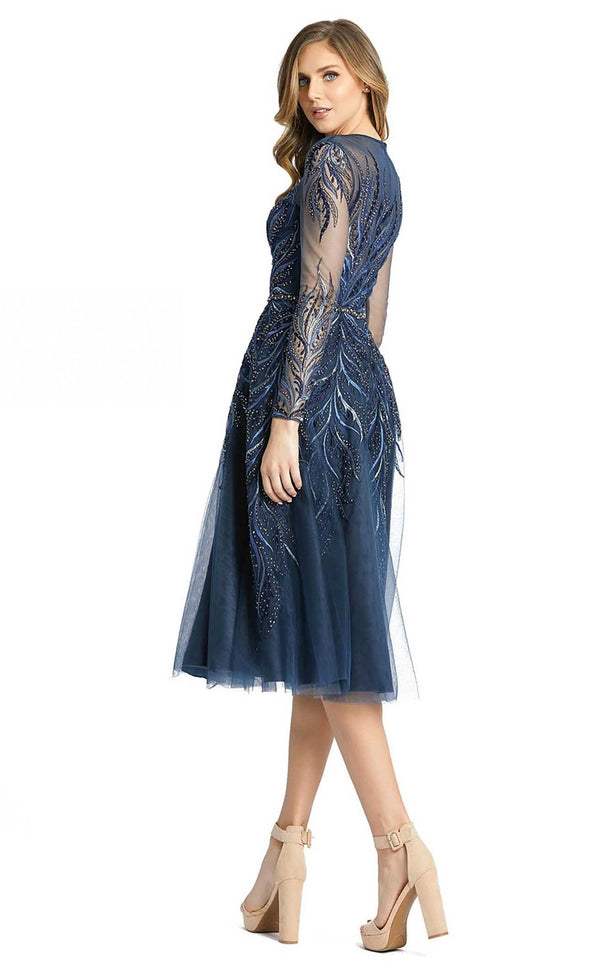 Mac Duggal 11136D Dress Twilight