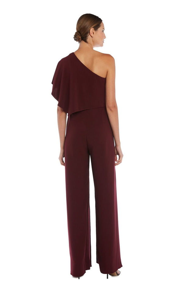 Issue NY 11651 Jumpsuit Burgundy