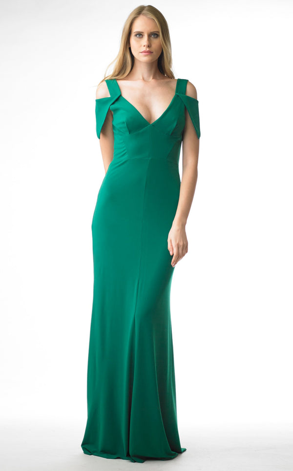 Issue NY 11655 Dress Emerald