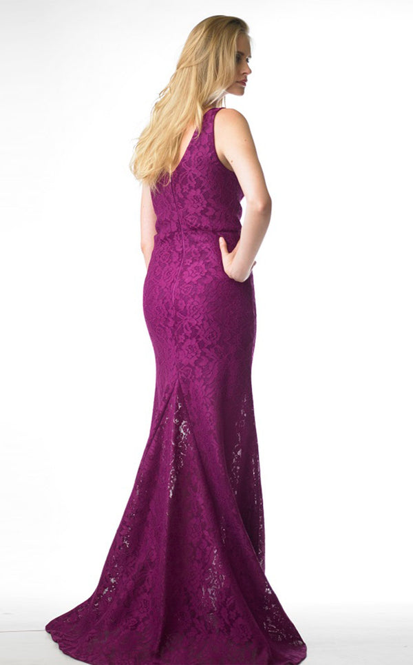 Issue NY 11656 Dress Magenta