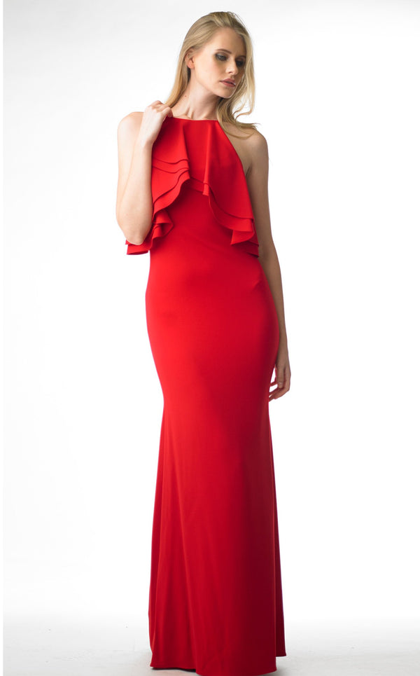 Issue NY 11679 Dress Red