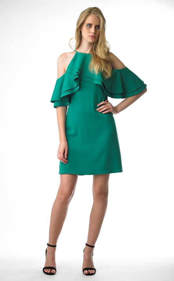 Issue NY 11703 Dress Emerald