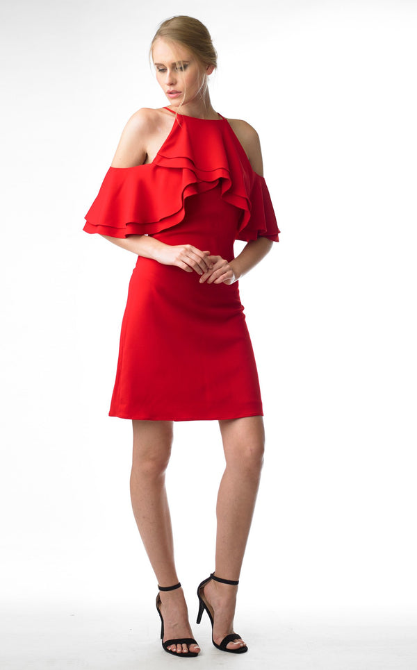 Issue NY 11703 Dress Red