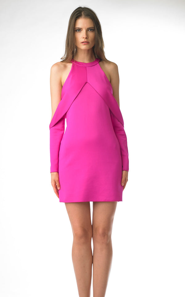 Issue NY 11708 Dress Hot-Pink