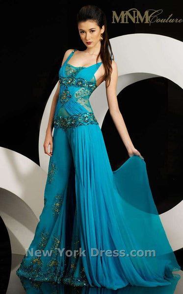 MNM Couture 5983 Blue