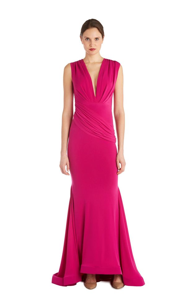 Issue NY 11817 Dress Magenta