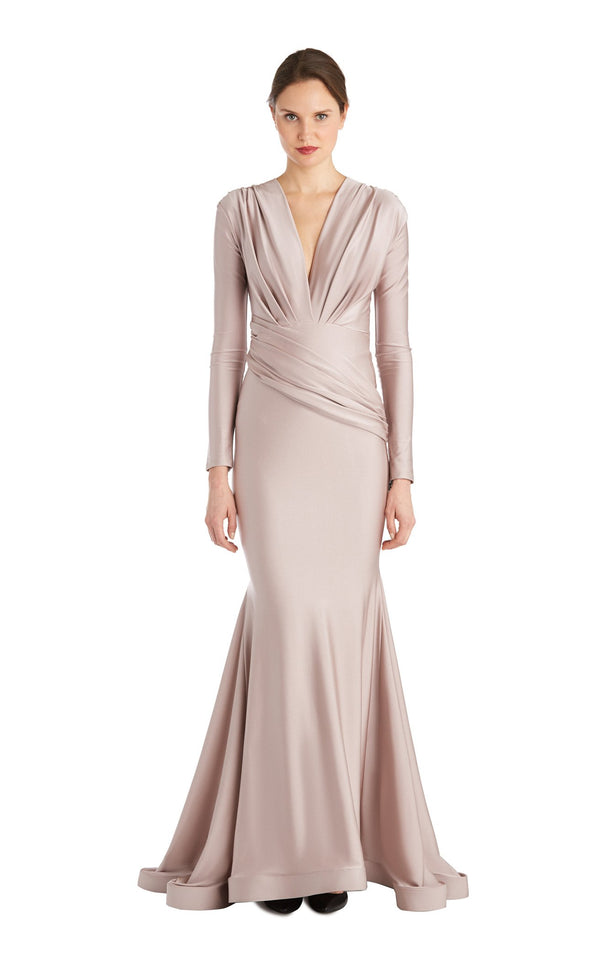 Issue NY 11823 Dress Dark-Blush