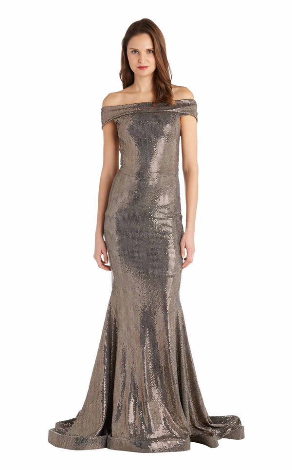 Issue NY 11828S Dress Gold