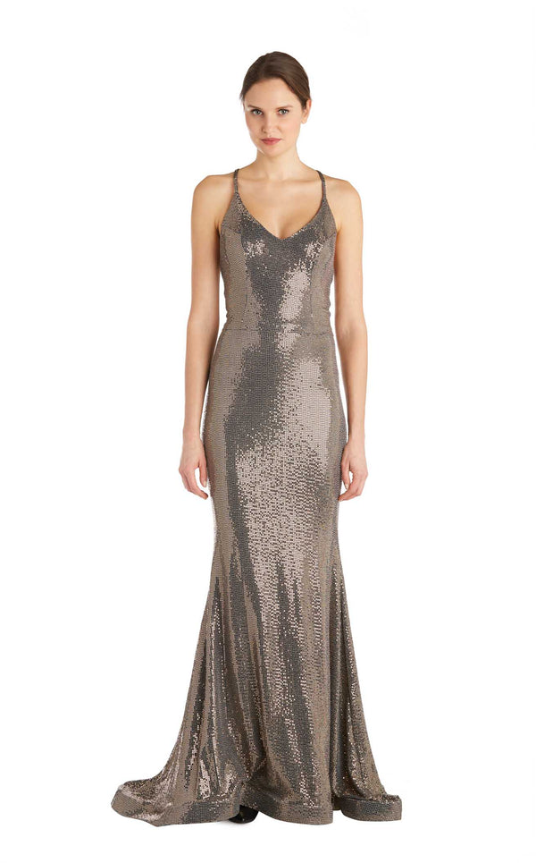 Issue NY 11847 Dress Gold