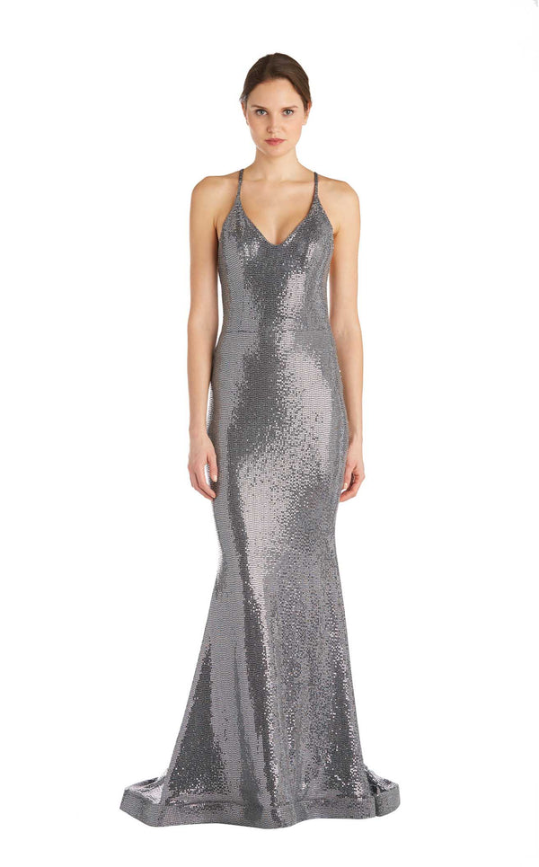 Issue NY 11847 Dress Silver