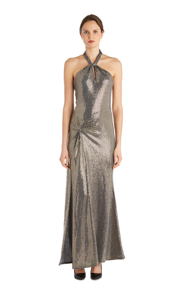 Issue NY 11862 Dress Gold