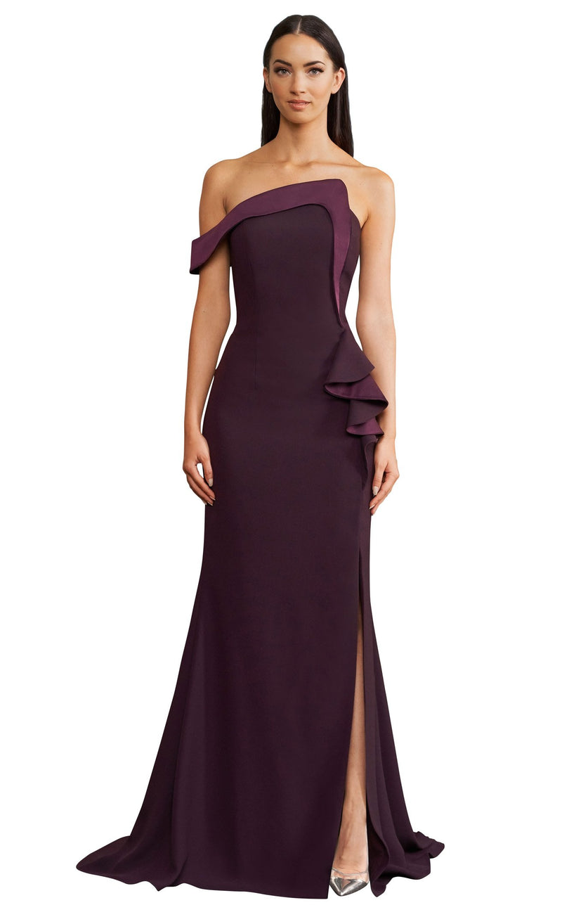 Daymor 1188 Dress Aubergine