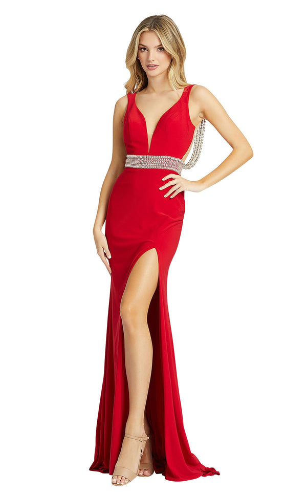 Mac Duggal 12342M Red