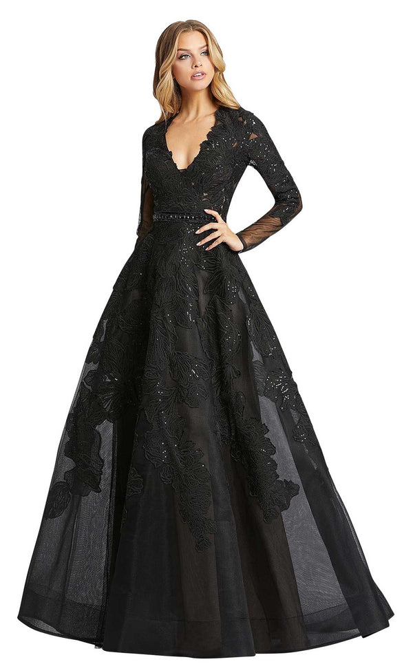 Mac Duggal 12347D Black