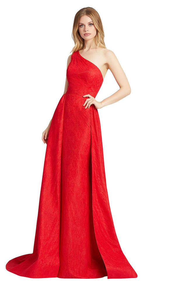 Mac Duggal 12363L Red