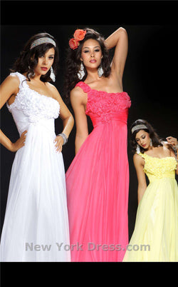 Mac Duggal 4481L Yellow
