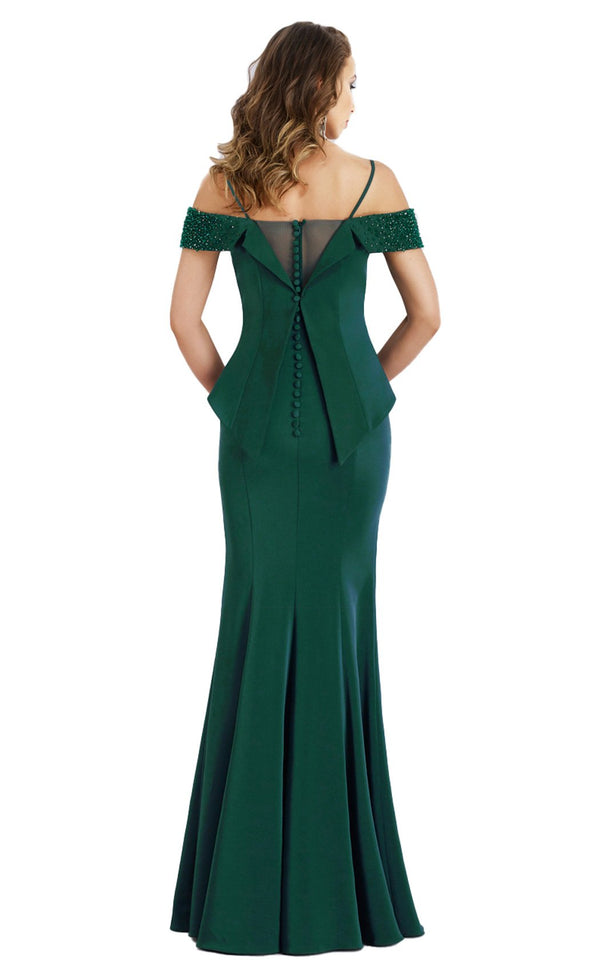 Gia Franco 12954 Dress Emerald