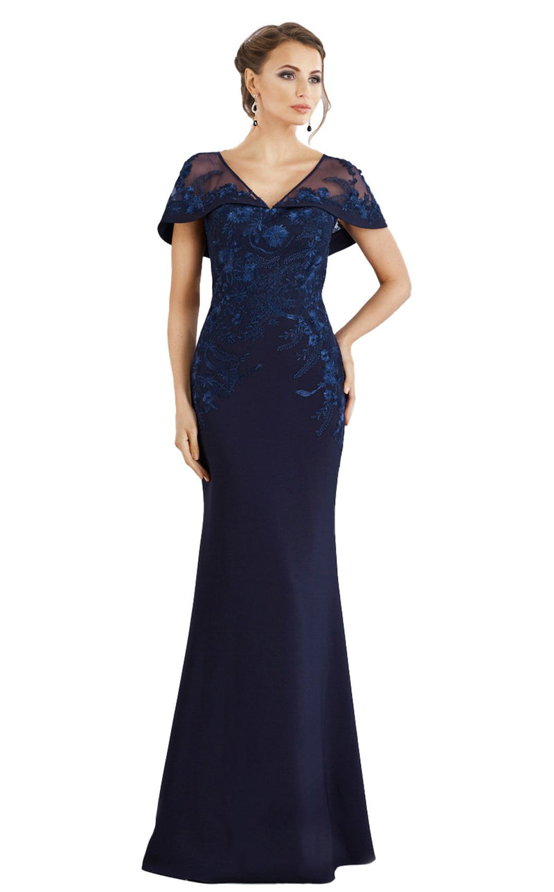 Gia Franco 12955 Dress Navy