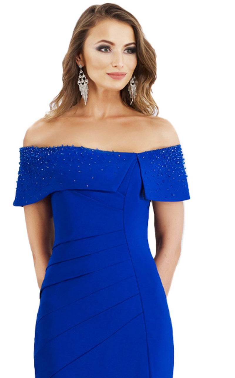 Gia Franco 12956 Dress Royal