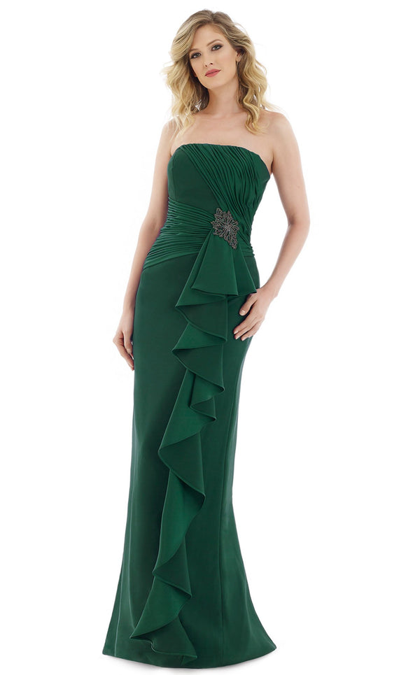Gia Franco 12985 Dress Emerald
