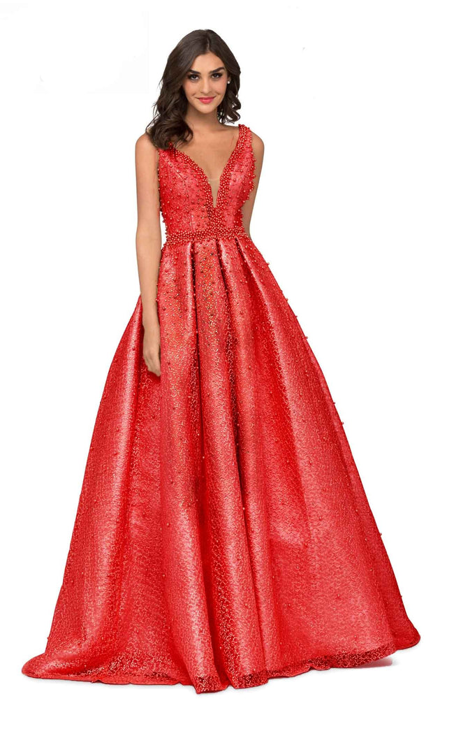 Cecilia Couture 1409 Hot Red
