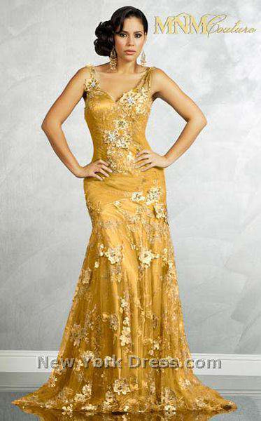 MNM Couture 6083 Gold