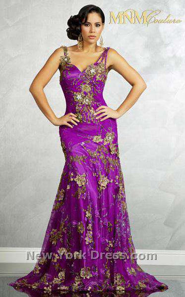 MNM Couture 6083 Purple
