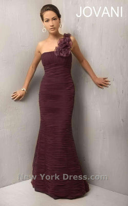 Jovani Mother of the Bride 7761 Aubergine