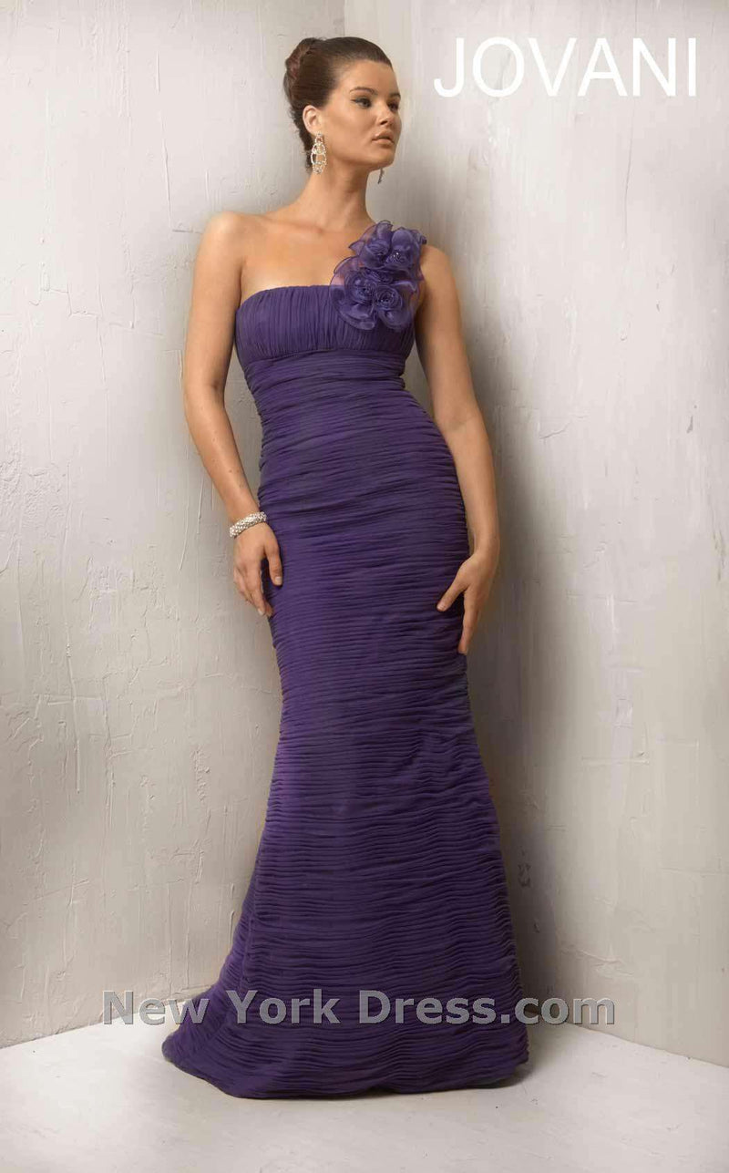 Jovani Mother of the Bride 7761 Deep Purple