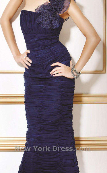 Jovani Mother of the Bride 7761 Navy