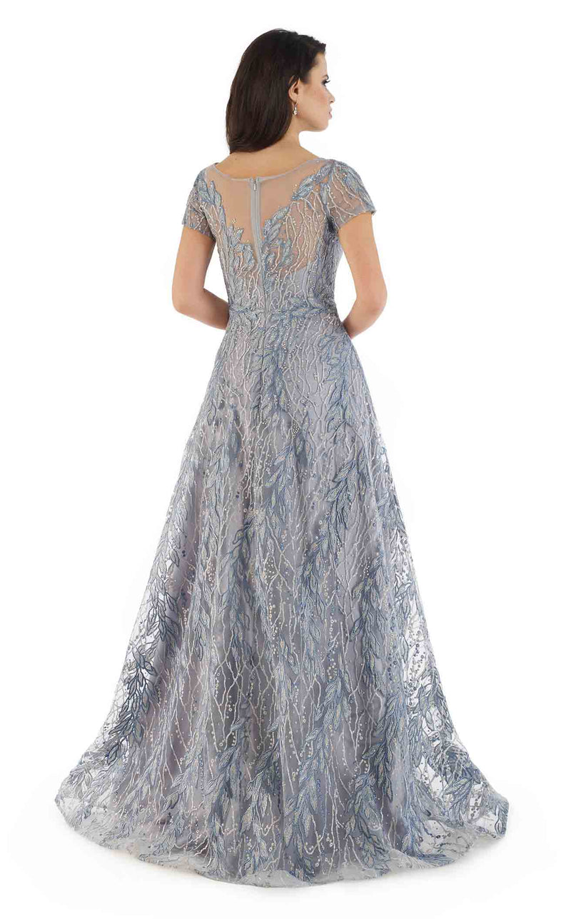 Morrell Maxie 16367 Dress Blue-Silver