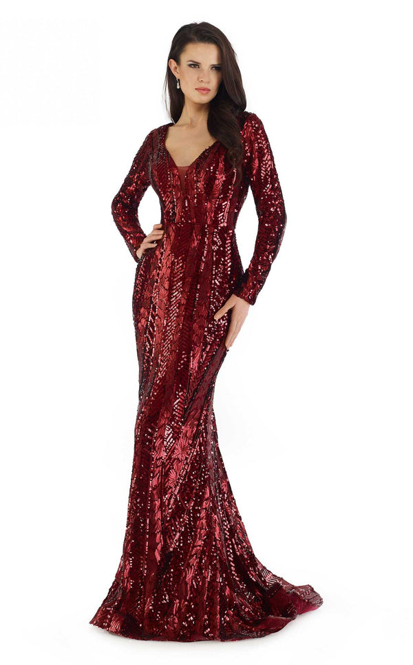 Morrell Maxie 16390 Dress Burgundy