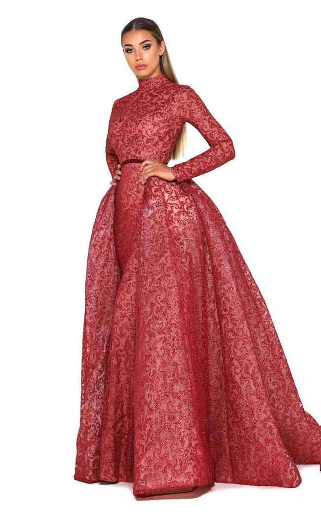 Portia and Scarlett 1702 Long Sleeves Dress
