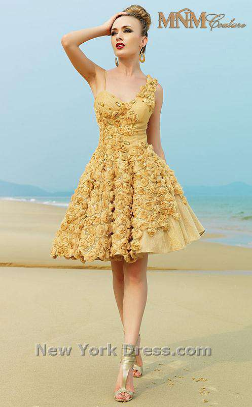 MNM Couture KH006 Gold