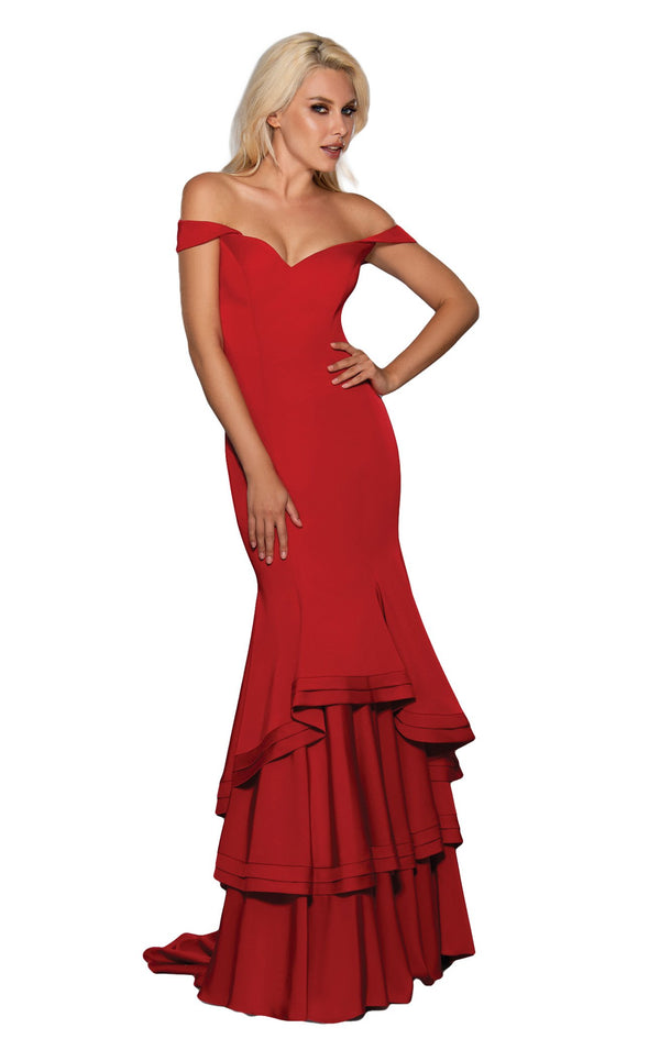 Stella Couture 17203 Dress Red
