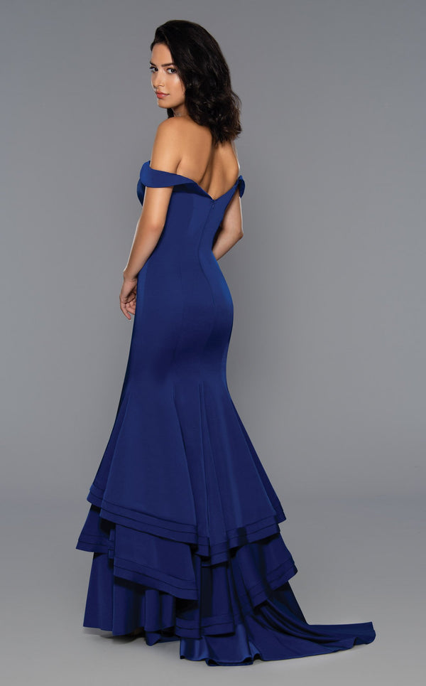 Stella Couture 17203 Dress Navy