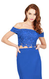 Cecilia Couture 1804 Royal Blue