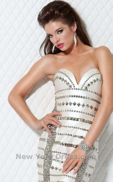 Jovani 9388 Off White