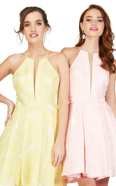 Cecilia Couture 1813 Pink Yellow