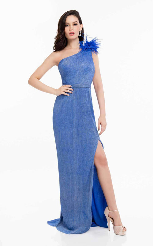 Evening Gowns With Feathers Shop Formal Prom Gowns