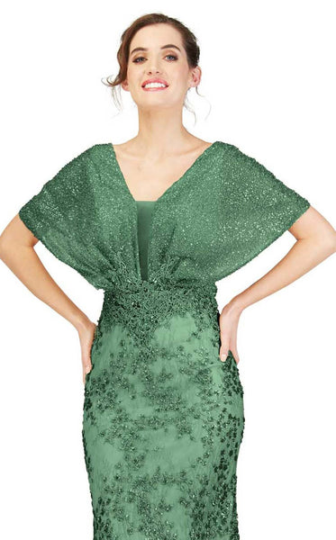 Cecilia Couture 1848 Emerald