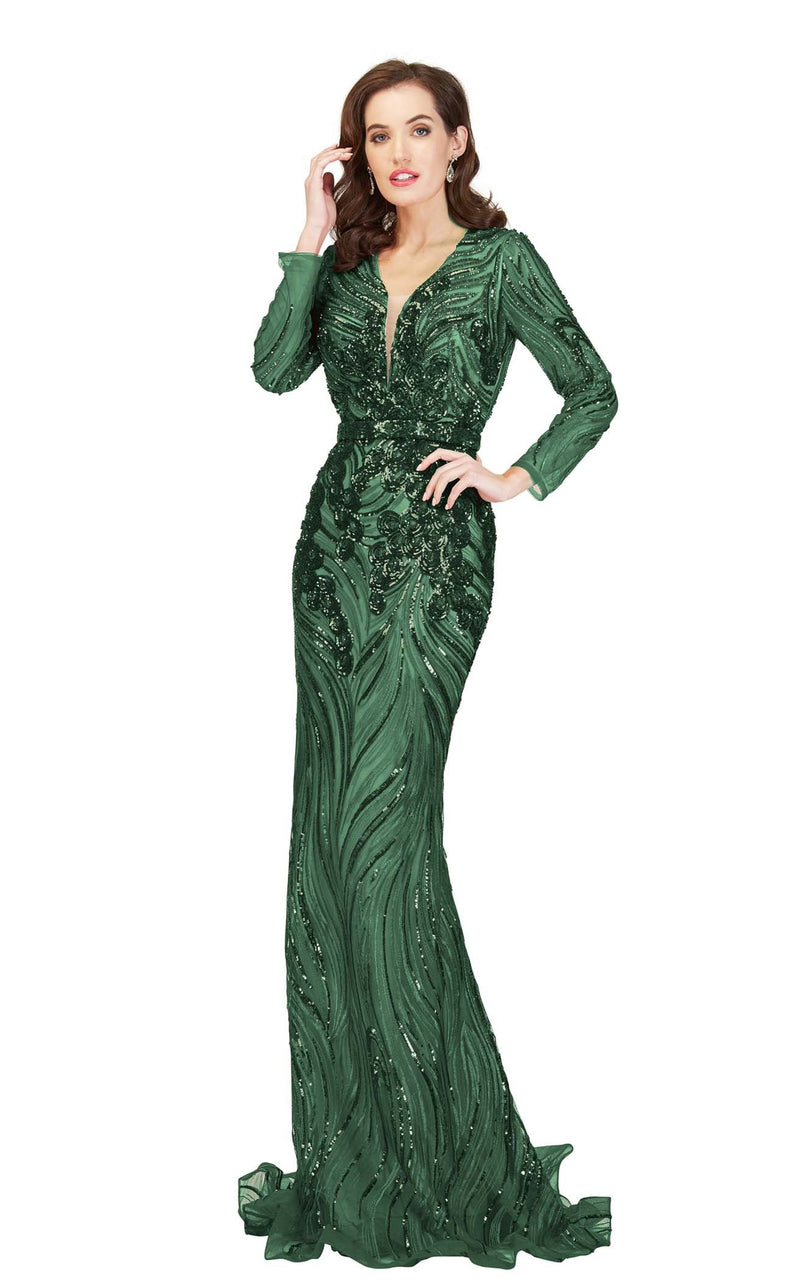 Cecilia Couture 1865 Emerald