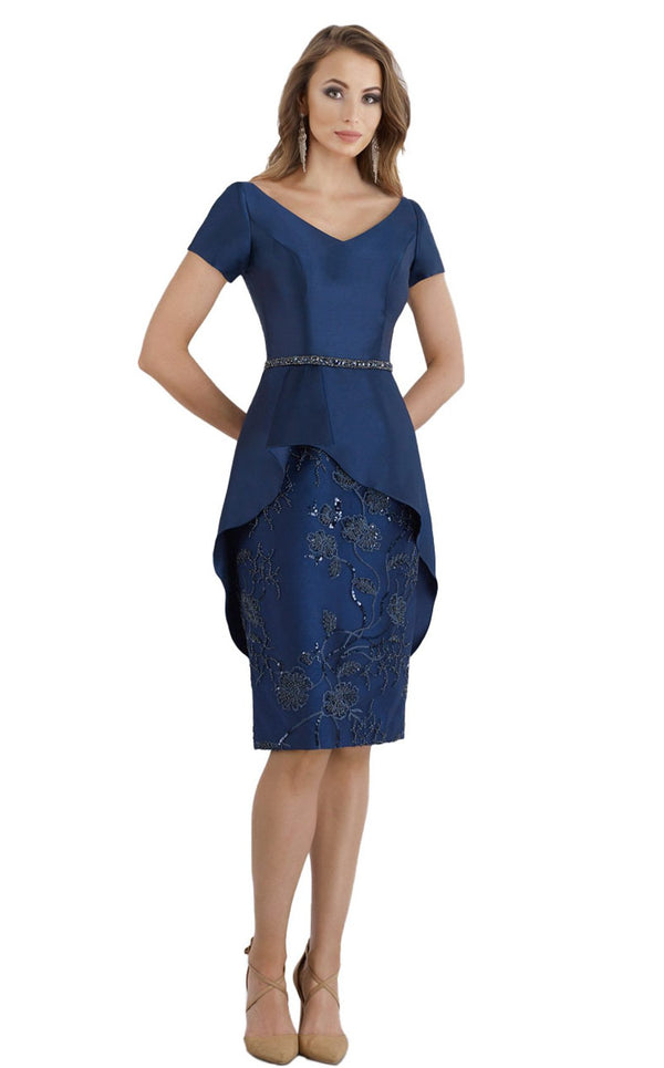 Feriani 18953 Dress Navy