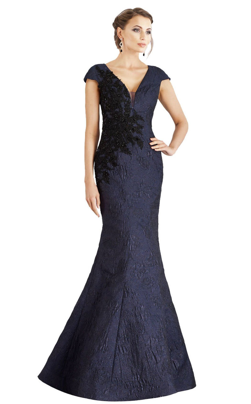 Feriani 18957 Dress Navy