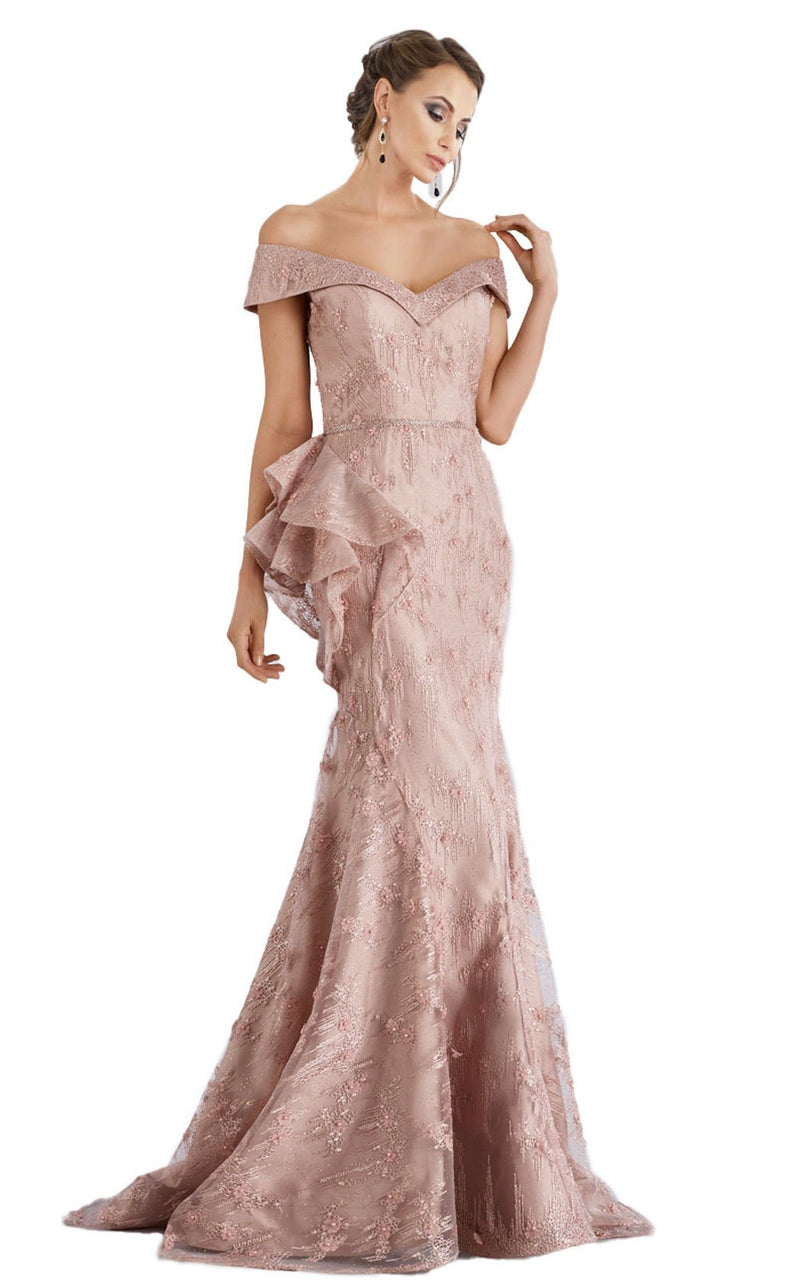 Feriani 18958 Dress Rose